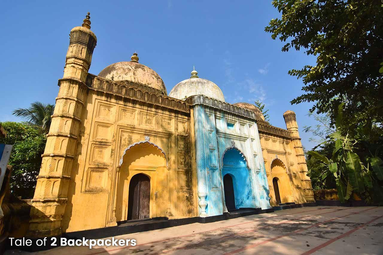 Blue Mosque at Azimganj Heritage Walk