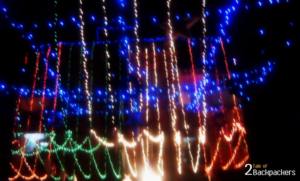 Christmas decoration at Bow Barracks Kolkata