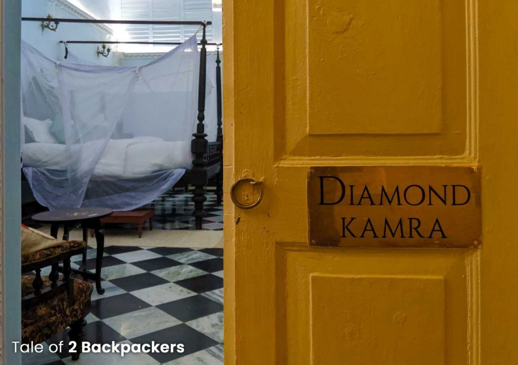 Diamond Kamra at Barikothi - Heritage hotel in India