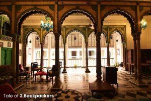 Gaddi Ghar at Bari Kothi - Heritage hotel in India