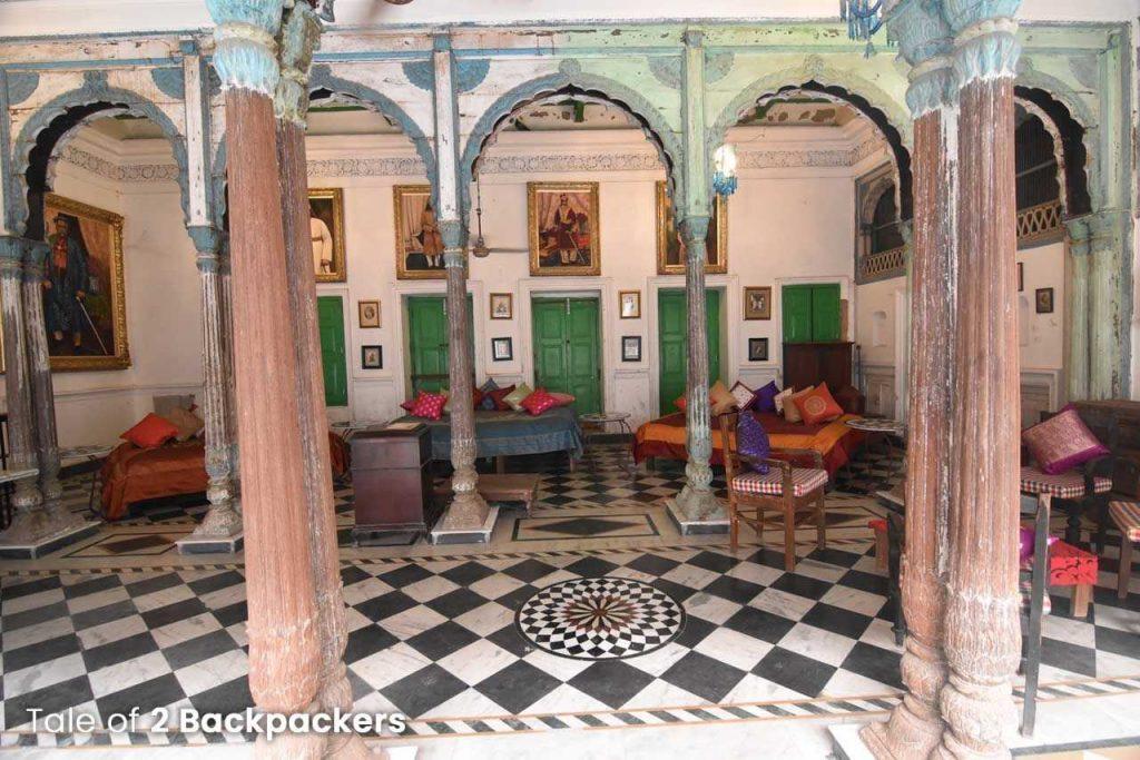 Gaddi Ghar at Barikothi in Murshidabad - heritage stay in India