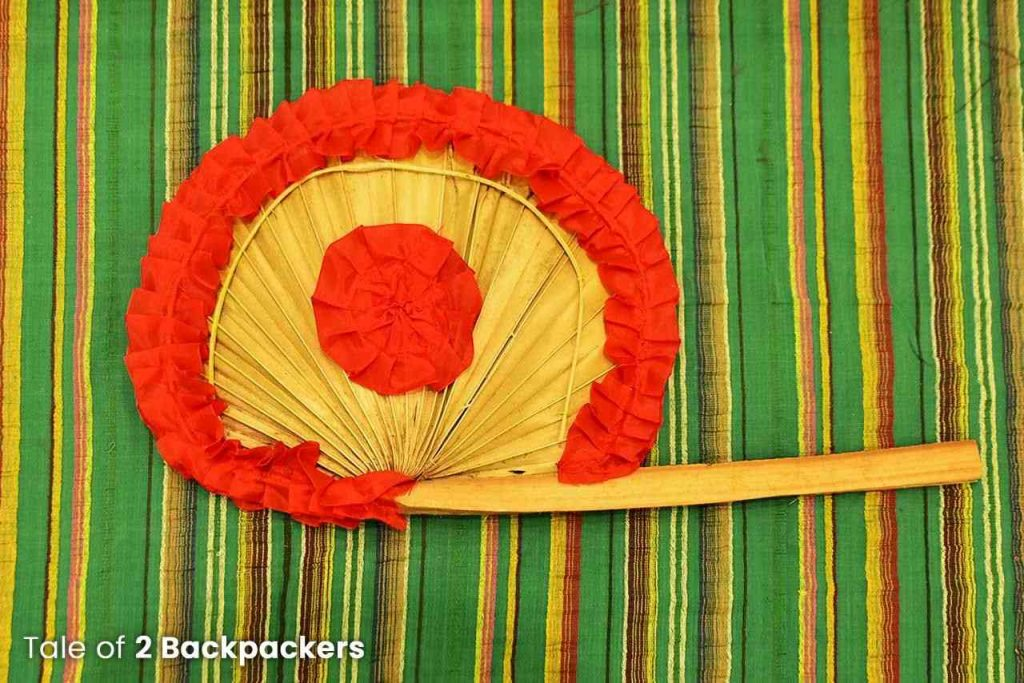 Hand fan of Bengal