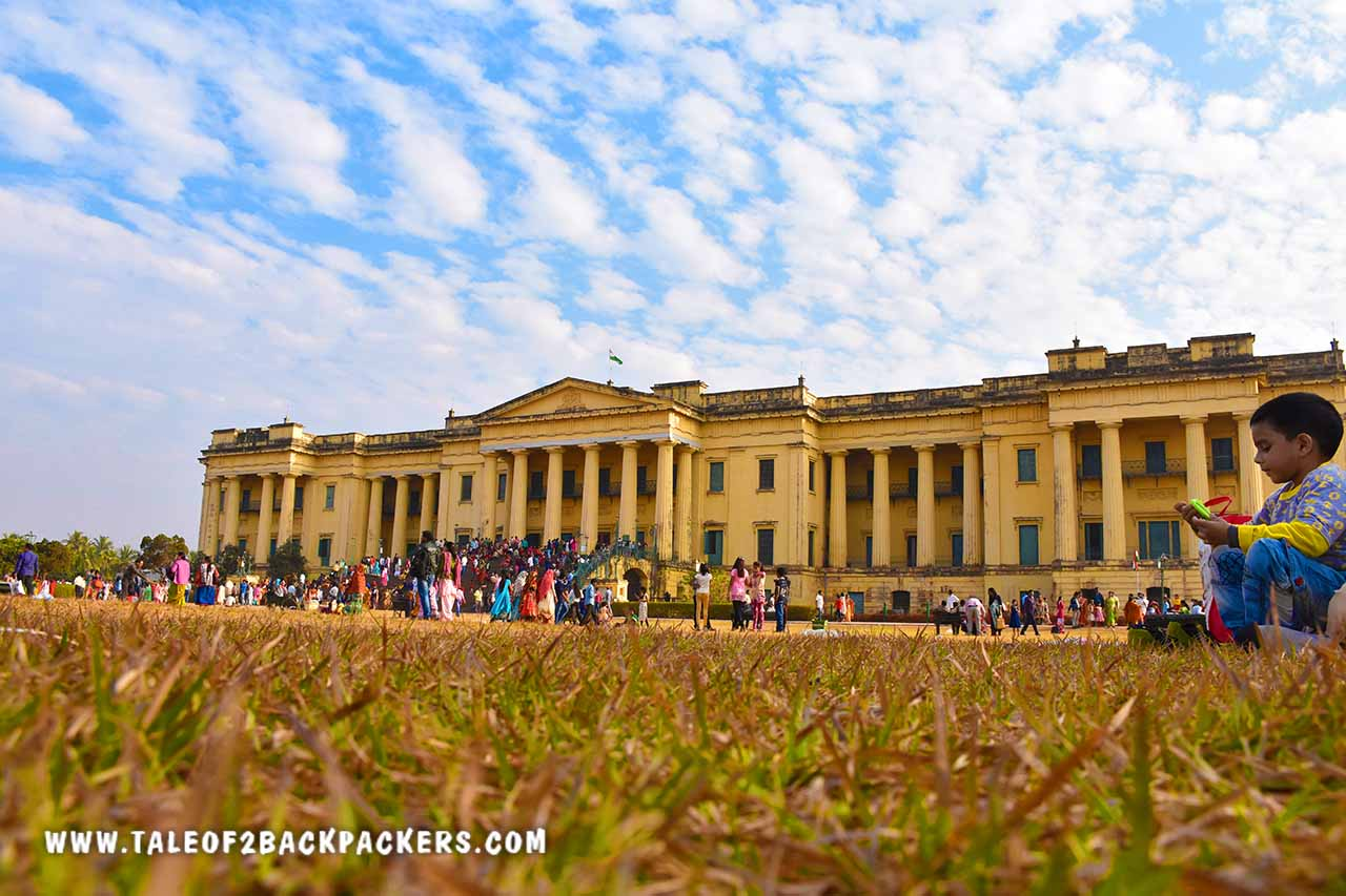 Hazarduari Palace and Museum in Murshidabad