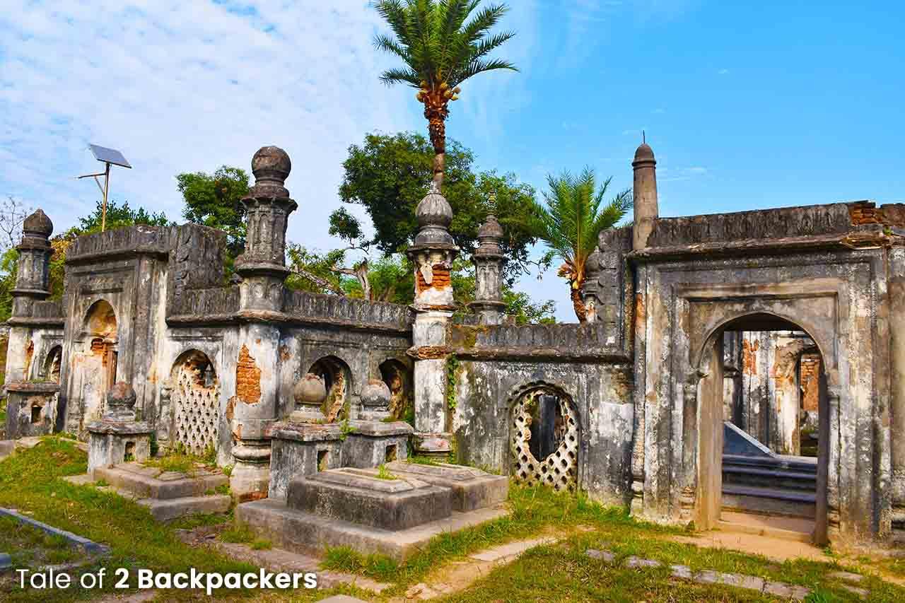 Jafarganj Cemetery in Murshidabad