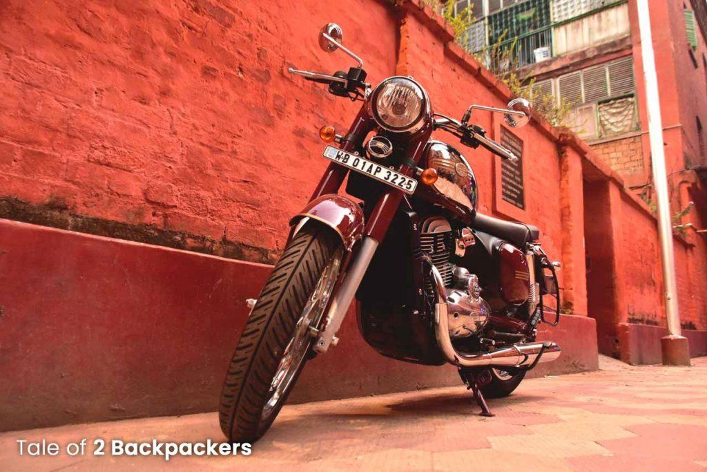 Jawa ride at Kolkata