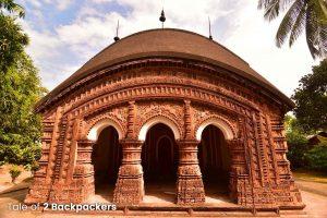 Gangeswar Jor Bangla Temple - terracotta temples of India