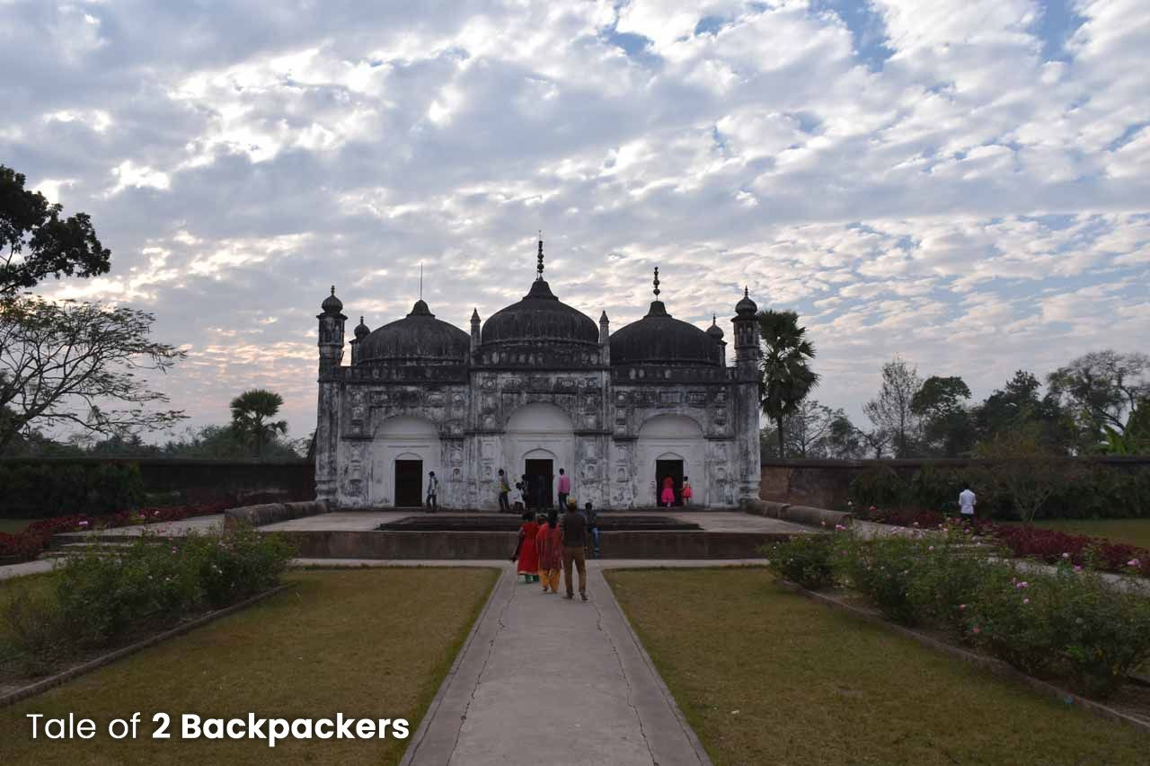 Mausoleum at Khosh Bagh in Murshidabad