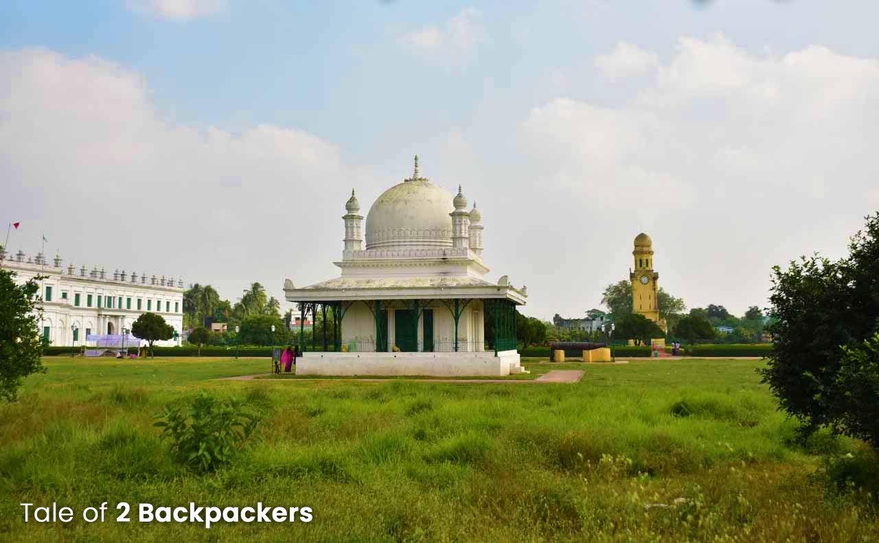 Madina Mosque in Hazarduari at Murshidabad