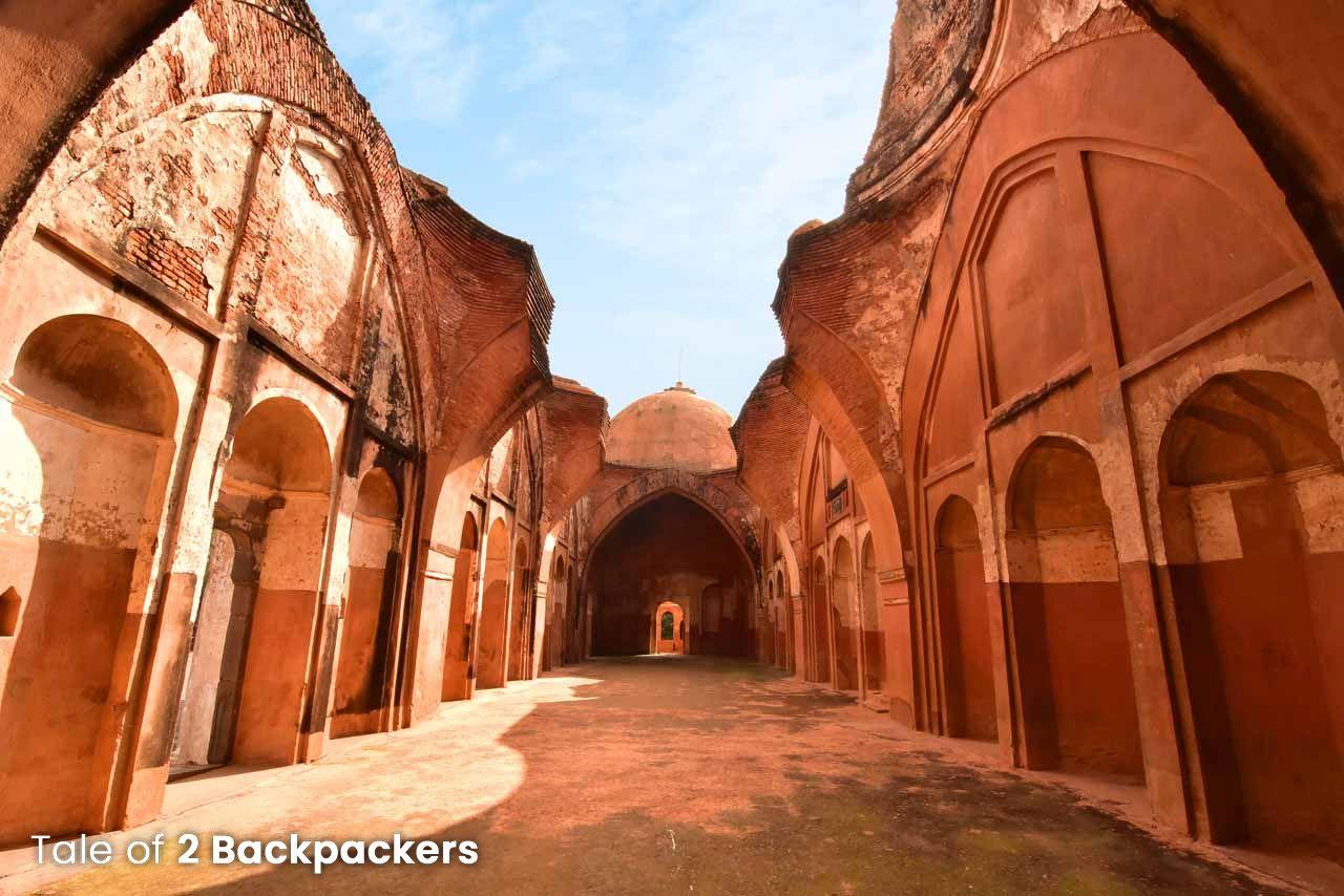 Mihrabs at Katra Mosque in Murshidabad