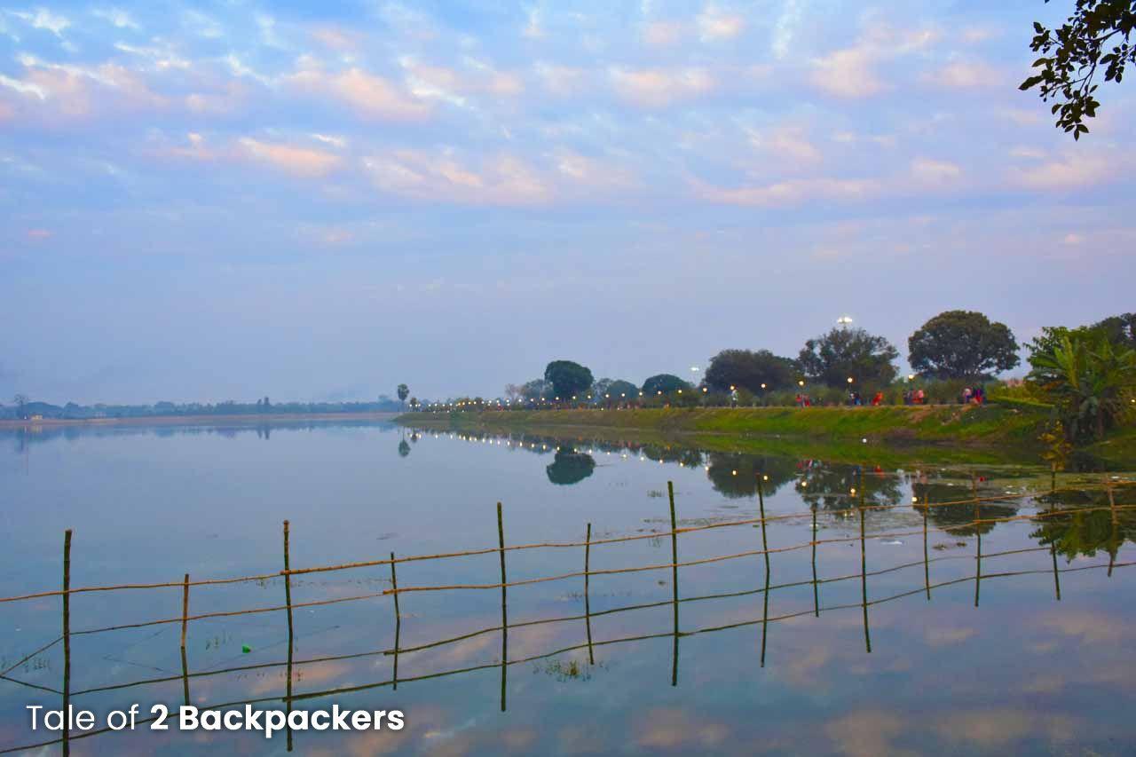 Motijheel Lake in Murshidabad