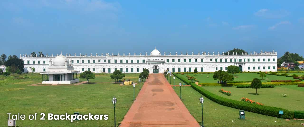 Nizamat Imambara in Hazarduari in Murshidabad