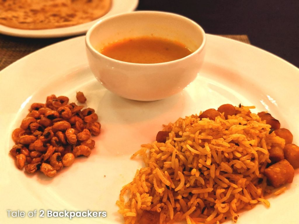 Fourth course for dinner at Barikothi_Sheherwali cuisine