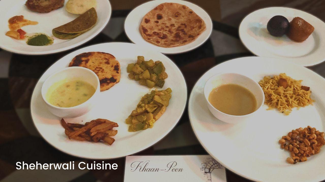 Sheherwali Cuisine – A Royal Vegetarian Affair