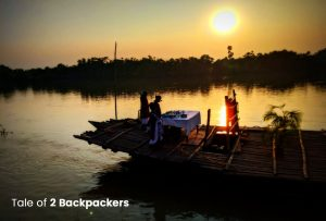 Sunset Boat Ride in Ganges