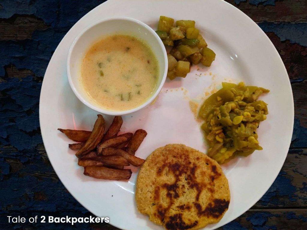 Third course for dinner at Barikothi_Sheherwali cuisine