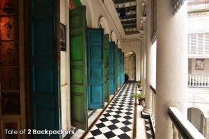 Corridors ar Barikothi - Rajbari in Bengal