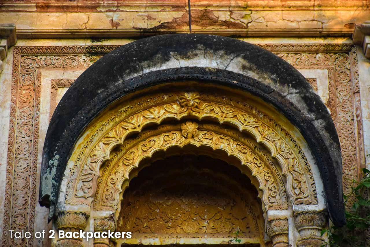 Design at Zenana Mahal inside Kathgola Garden