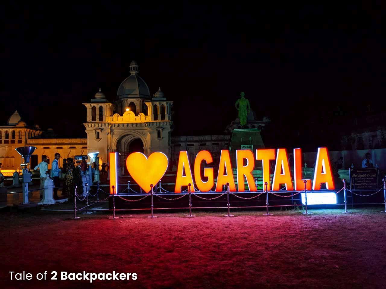 Agartala, the capital of Tripura