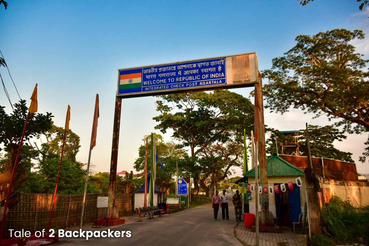 Akhaura Integrated Checkpost in Agartala, Tripura