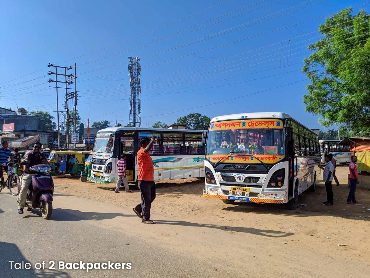 Buses in Tripura - Transport in Tripura