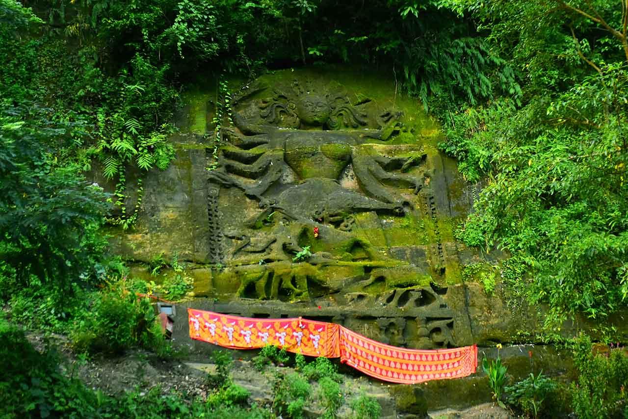 Image of Devi Chakrama at Chabimura, an offbeat place in Tripura