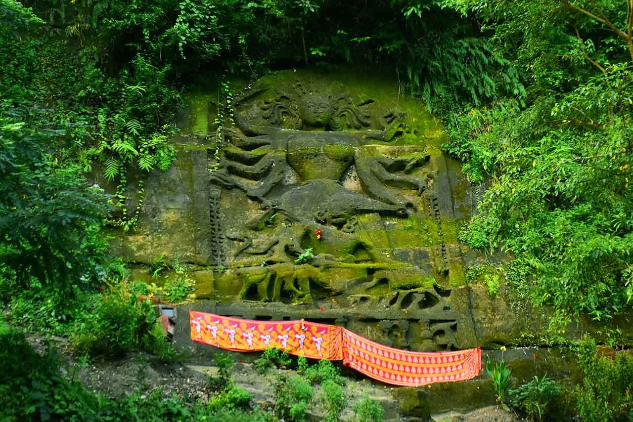 Image of Devi Chakrama at Chabimura, an offbeat place in Tripura