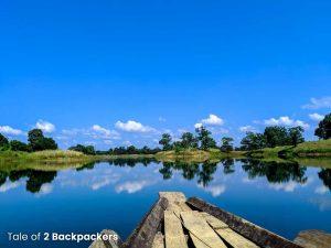 Dumboor Lake in Tripura
