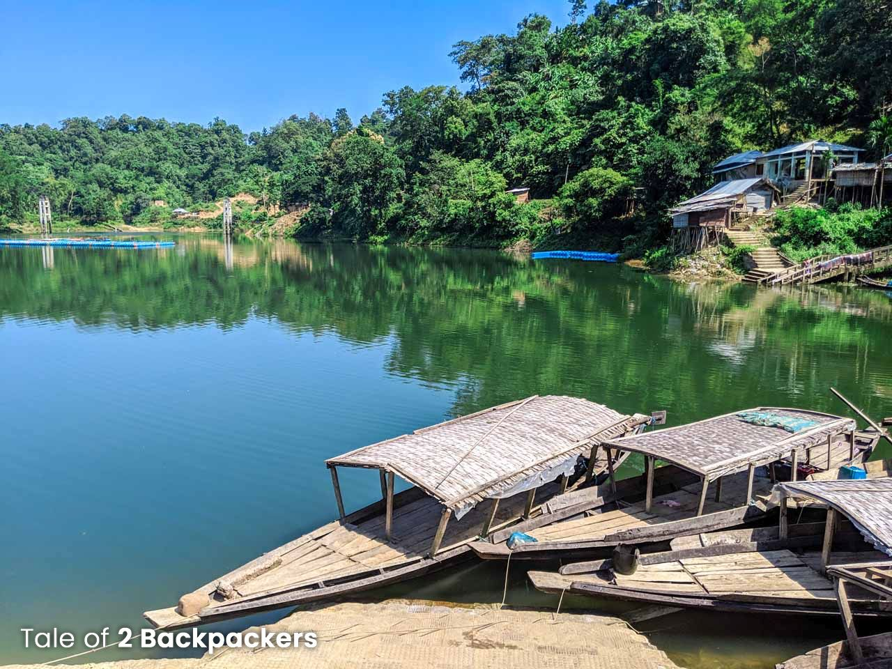 Dumboor Lake view point - Tripura tourist places