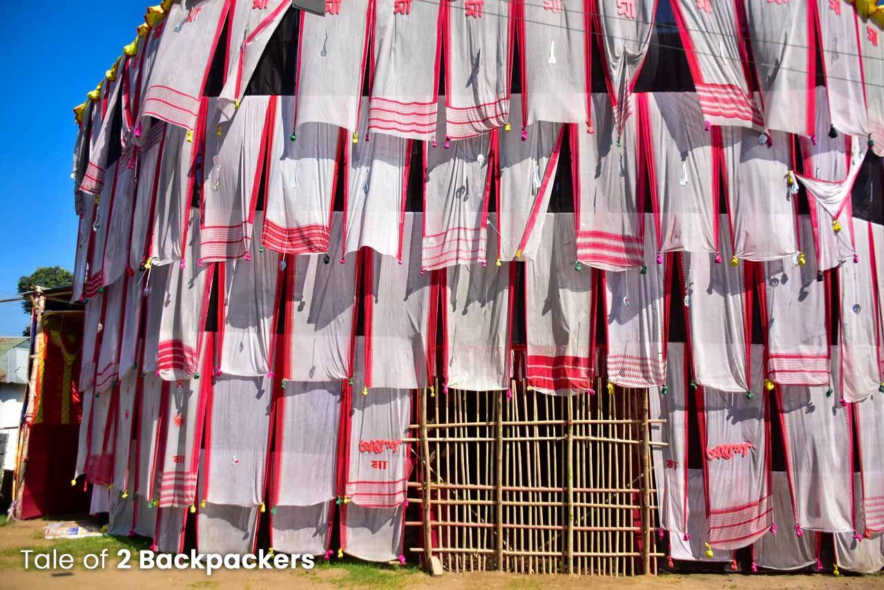 Durga Puja Pandal in Tripura