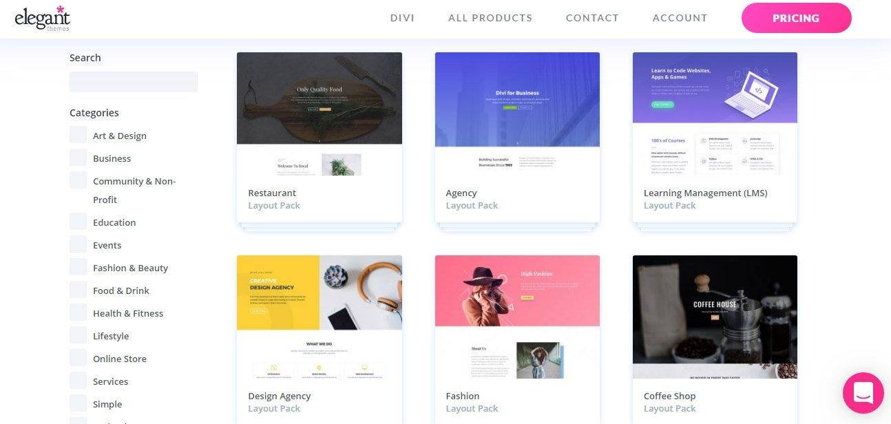 Elegant Themes - Premium themes