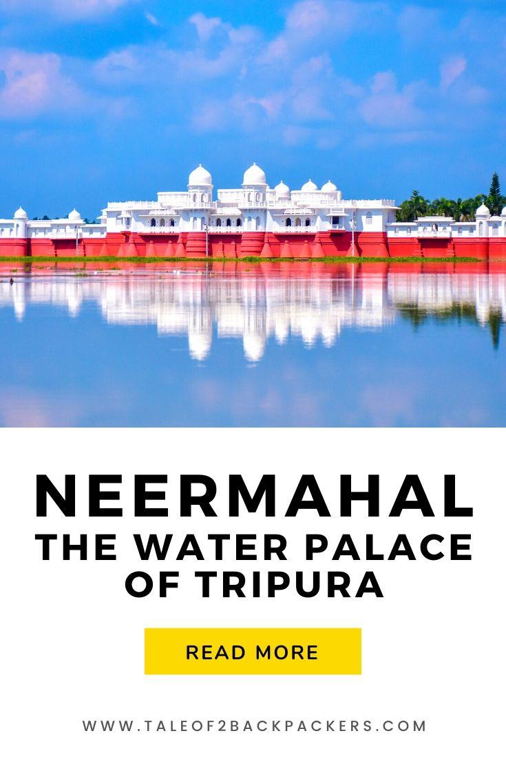 Floating wonder of Tripura - Neermahal Palace