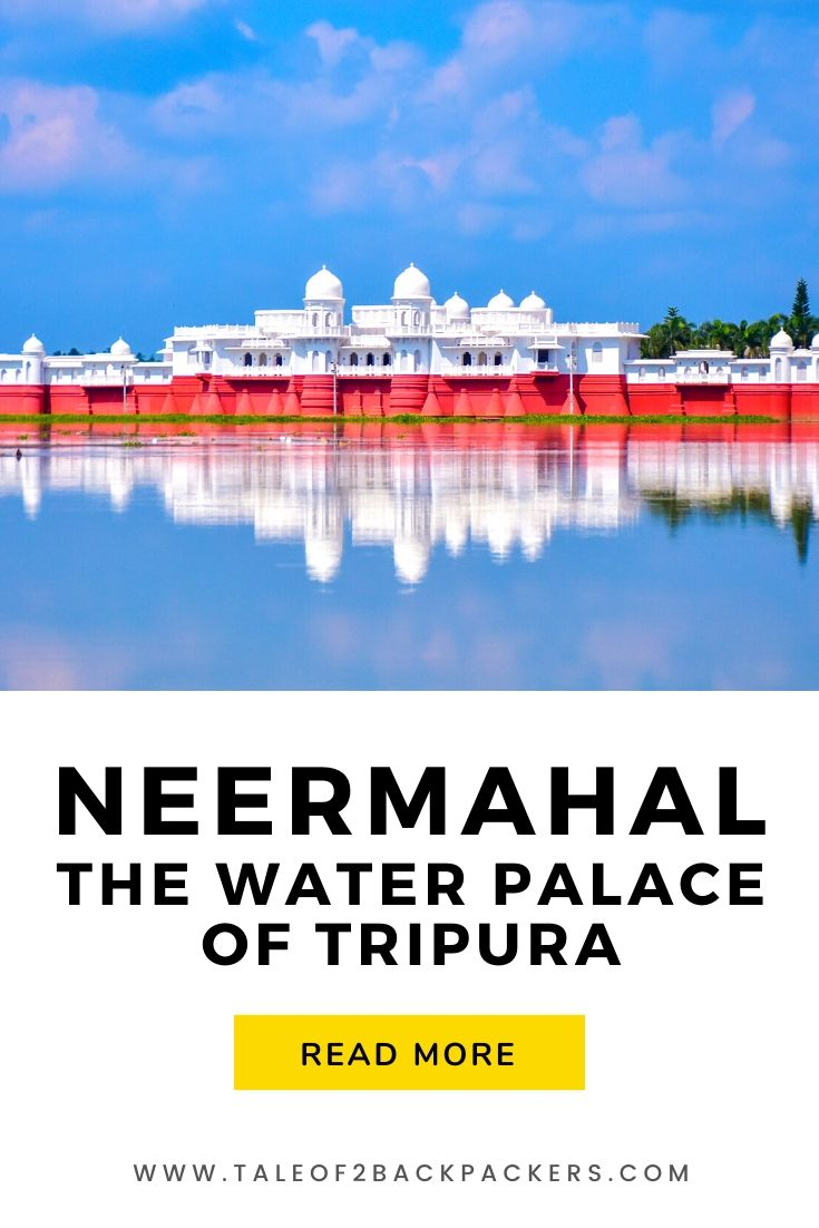 Floating wonder of Tripura - Neermahal Palace
