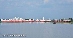 Panoramic view of Neermahal Palace, Tripura Tourism