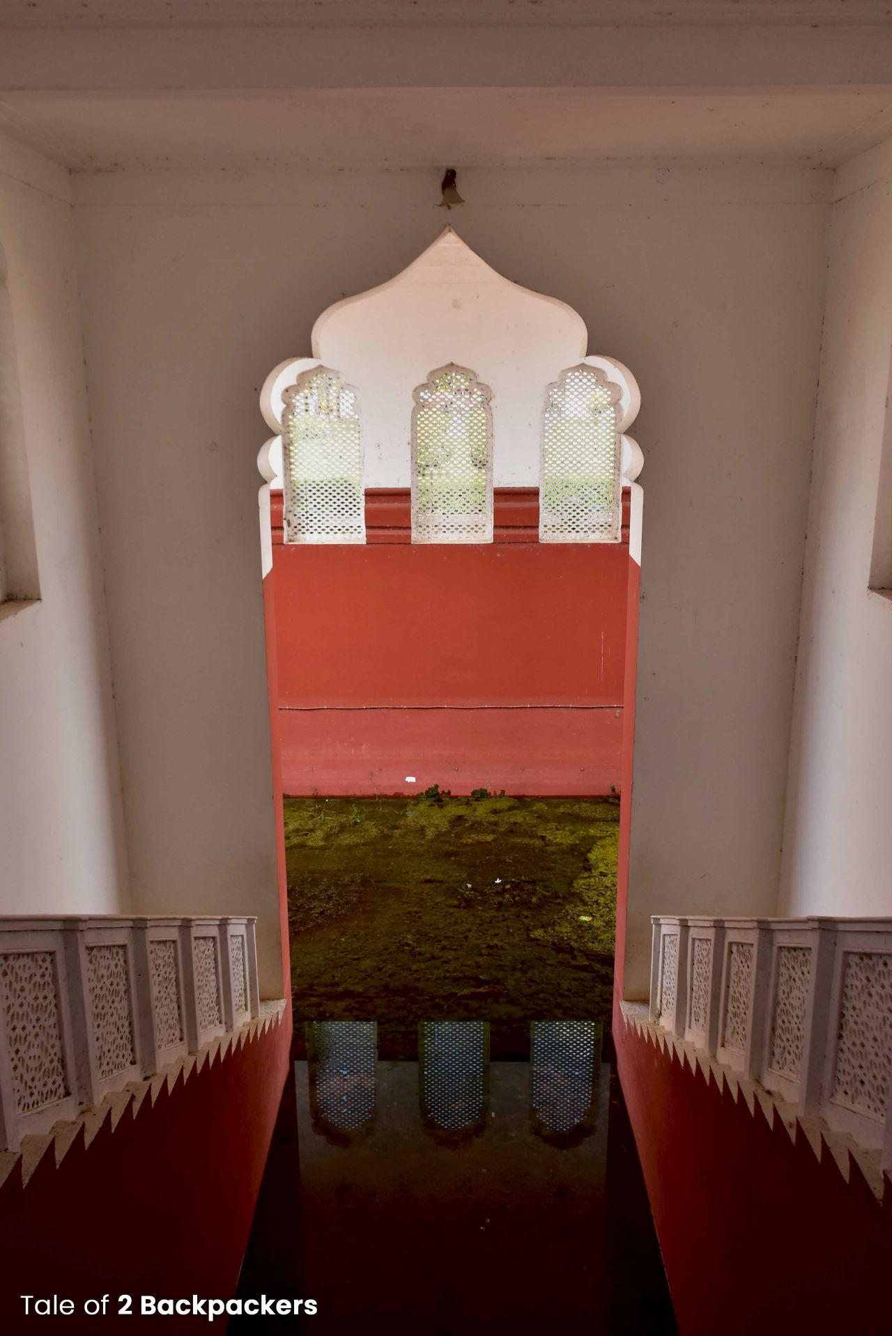 Ghat inside the Palace