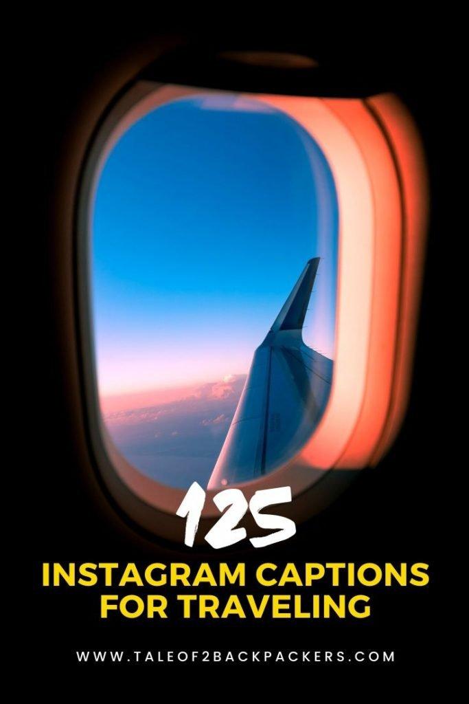 Instagram Captions For Traveling