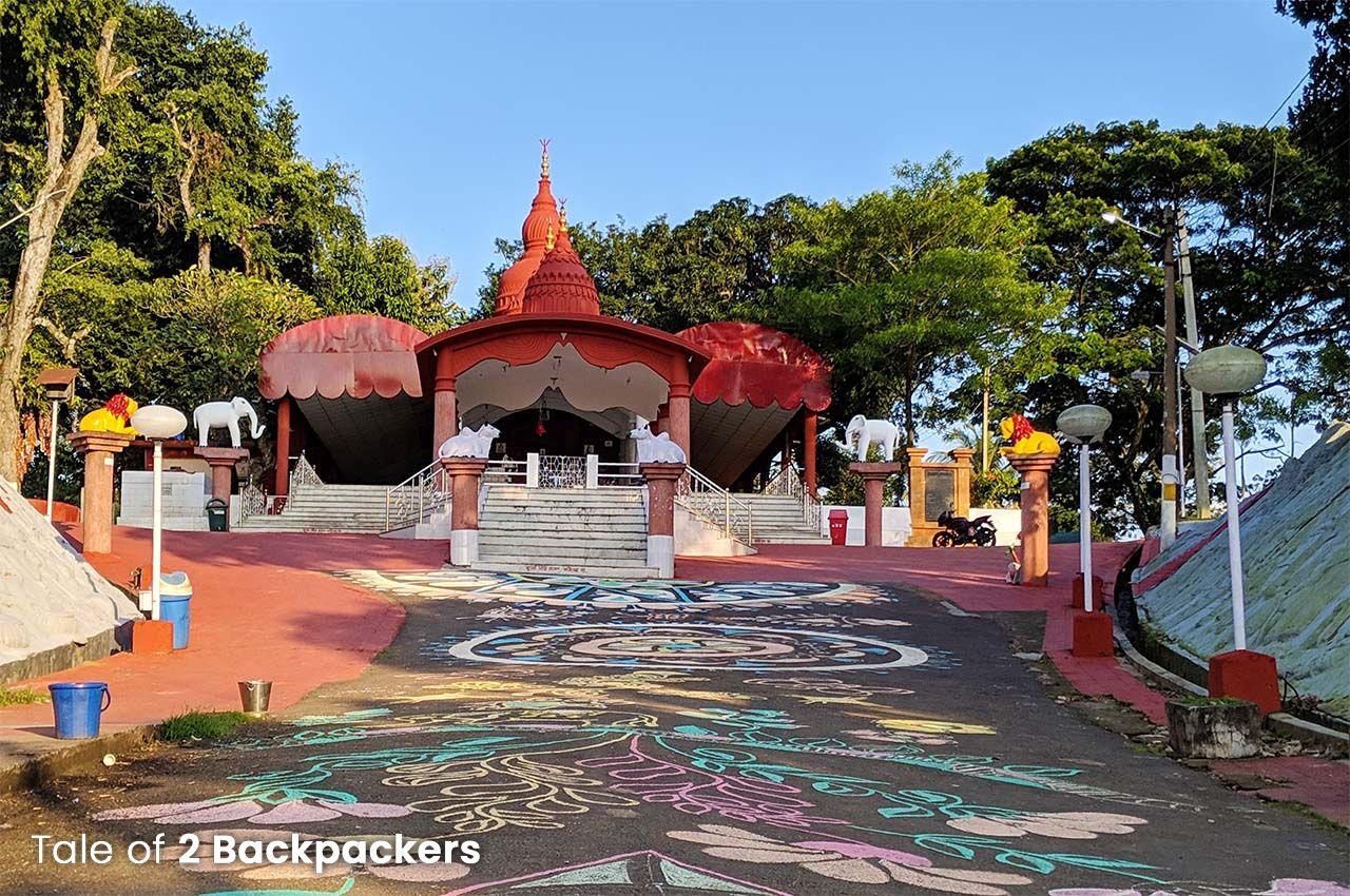 Kasba Kali Temple at Kamalasagar - tourist places in Tripura