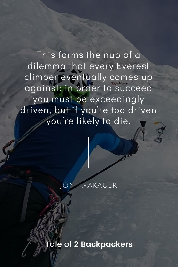 Jon Krakauer Everest quotes