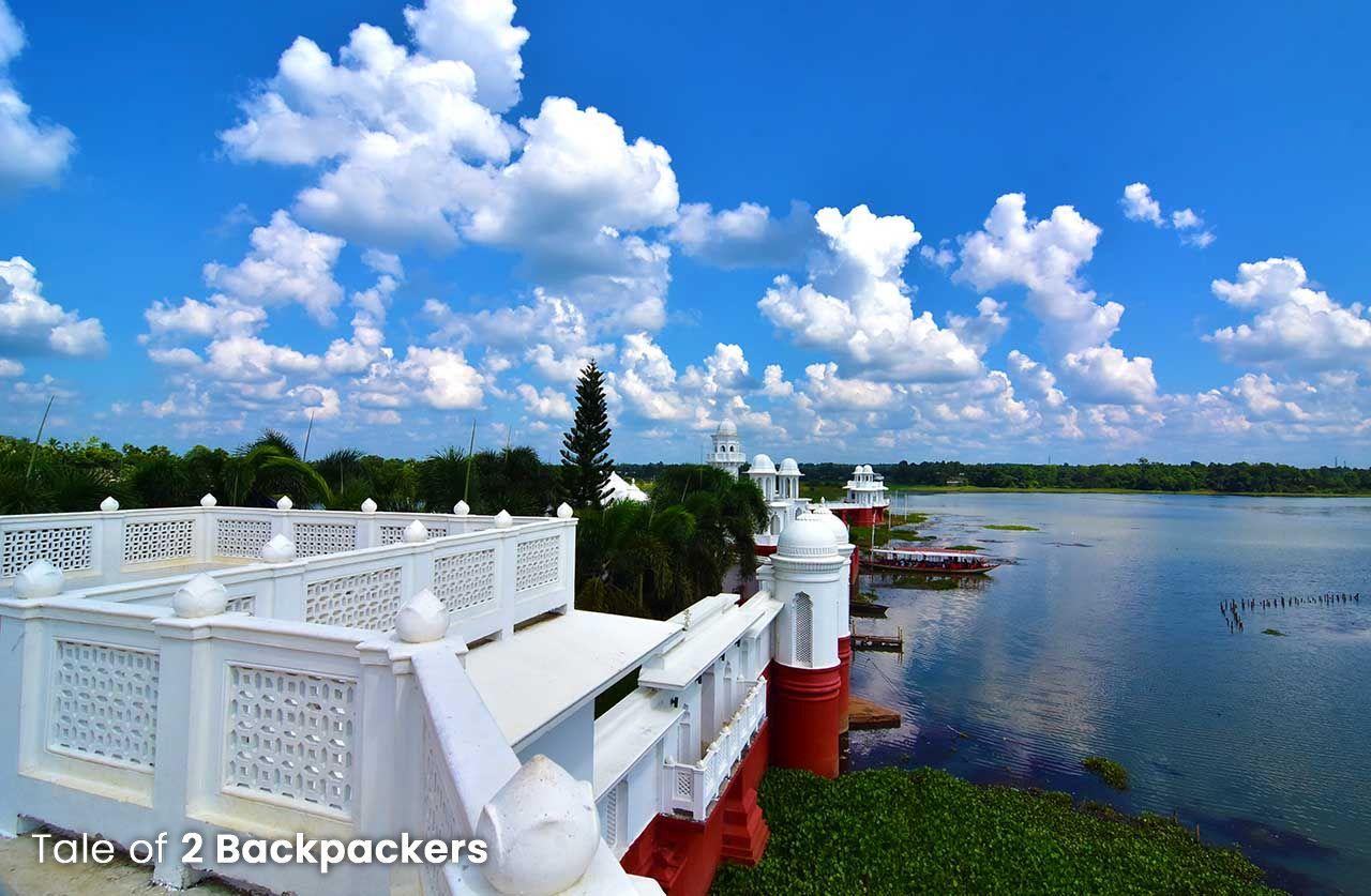 Water Palace of Tripura