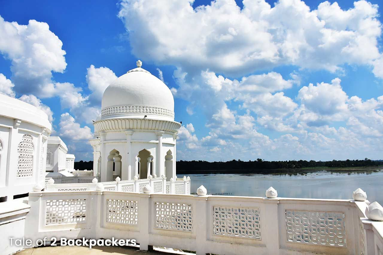 Watchtower in Neermahal Palace, Tripura