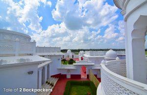 The palace gardens - Tripura tourism