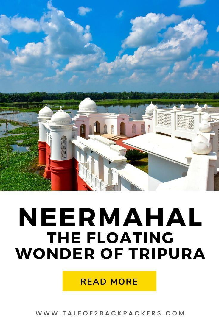 Neermahal or Water Palace of Tripura