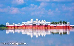Neermahal in Melaghar Tripura