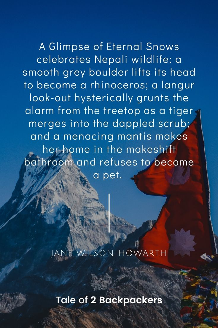 Nepal Adventure Quotes