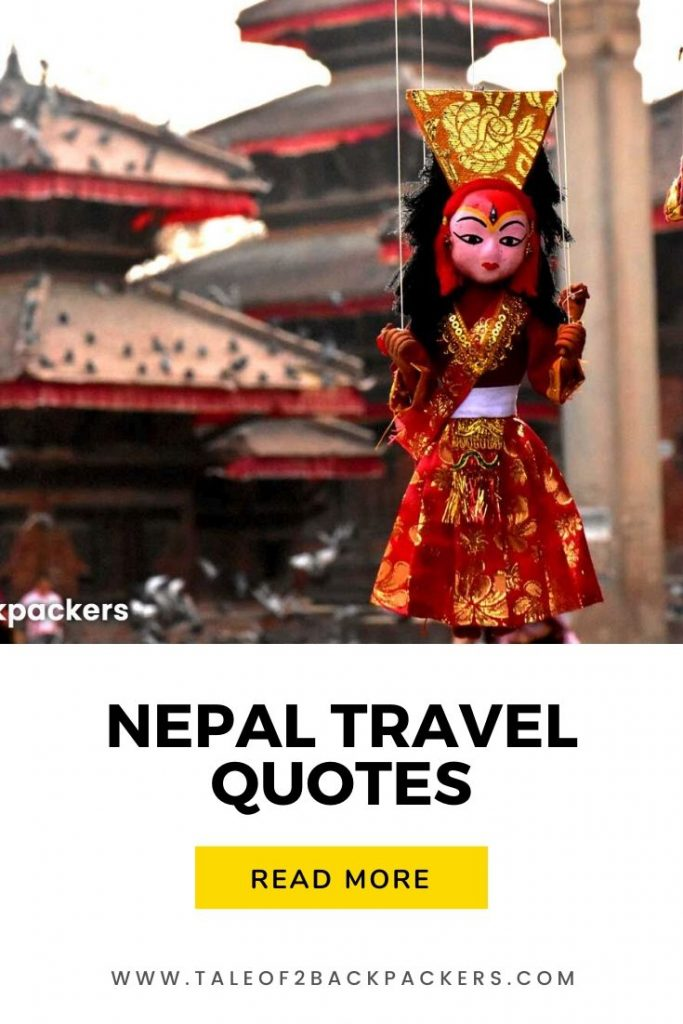 Nepal Travel Quotes