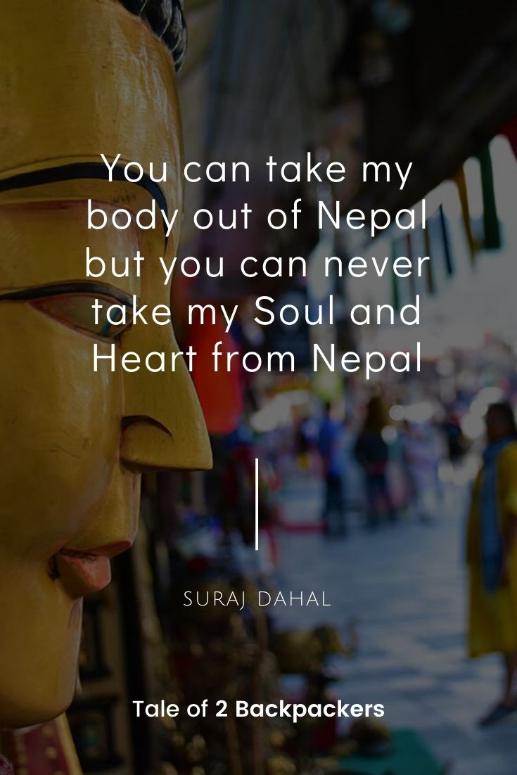 Nepal sayings