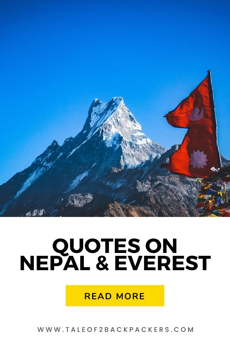 Quotes on Everest