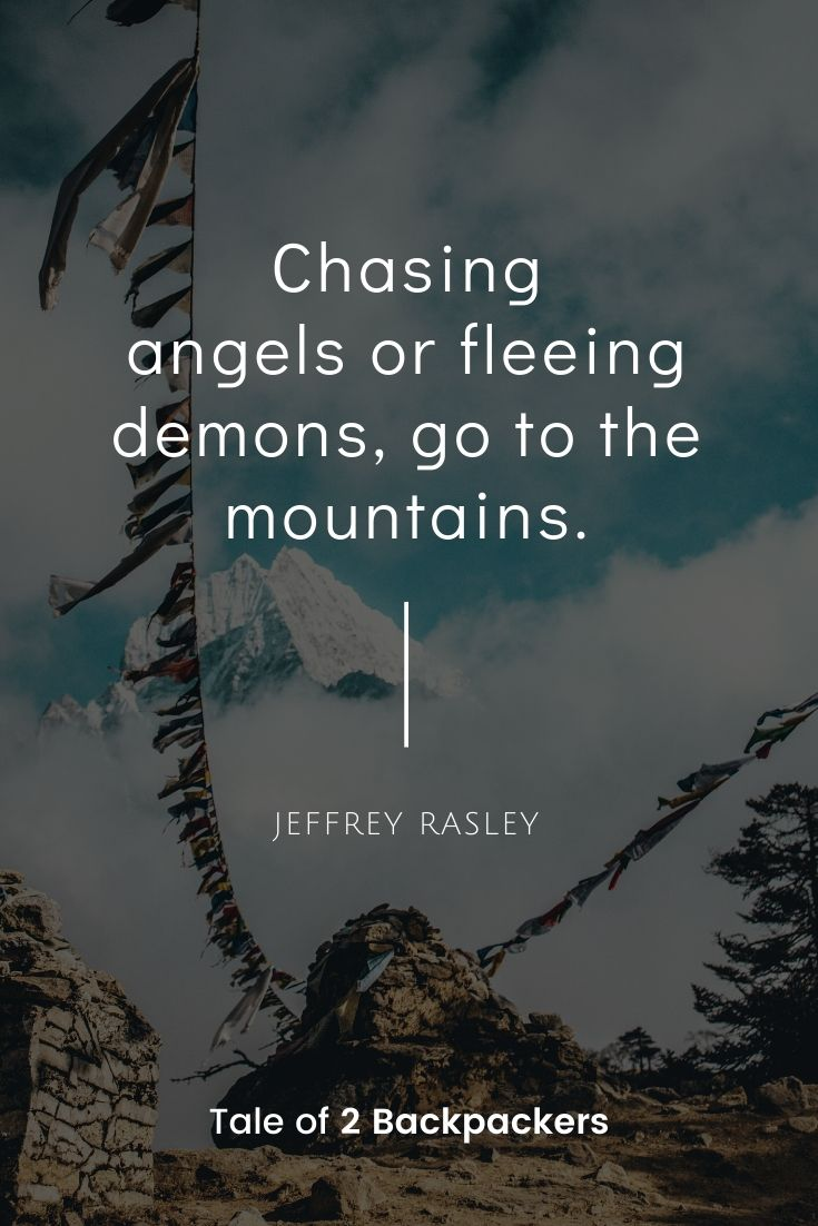 Mountain quotes