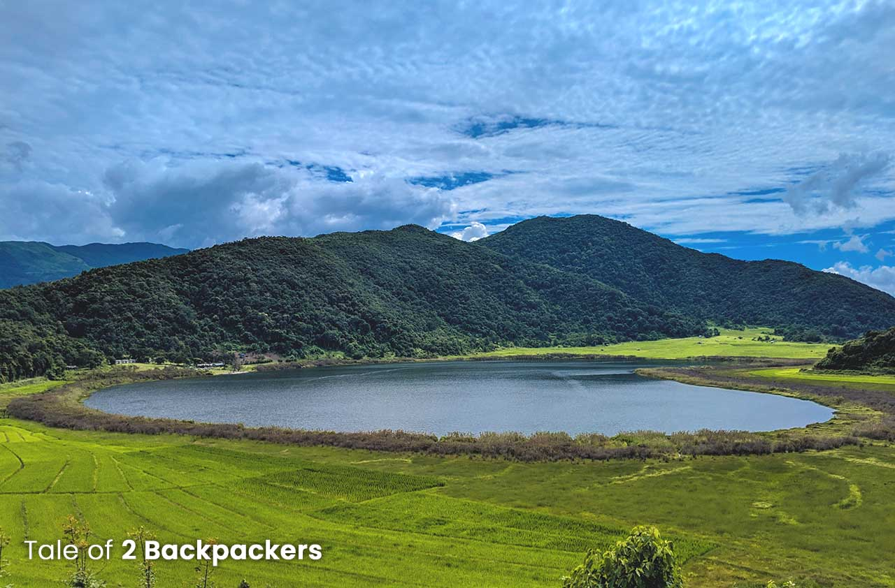 Rih Dil is the most important lake in Mizoram but is located in Myanmar