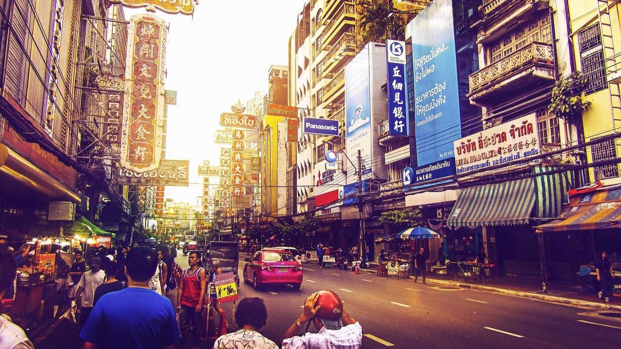 Roads in Thailand