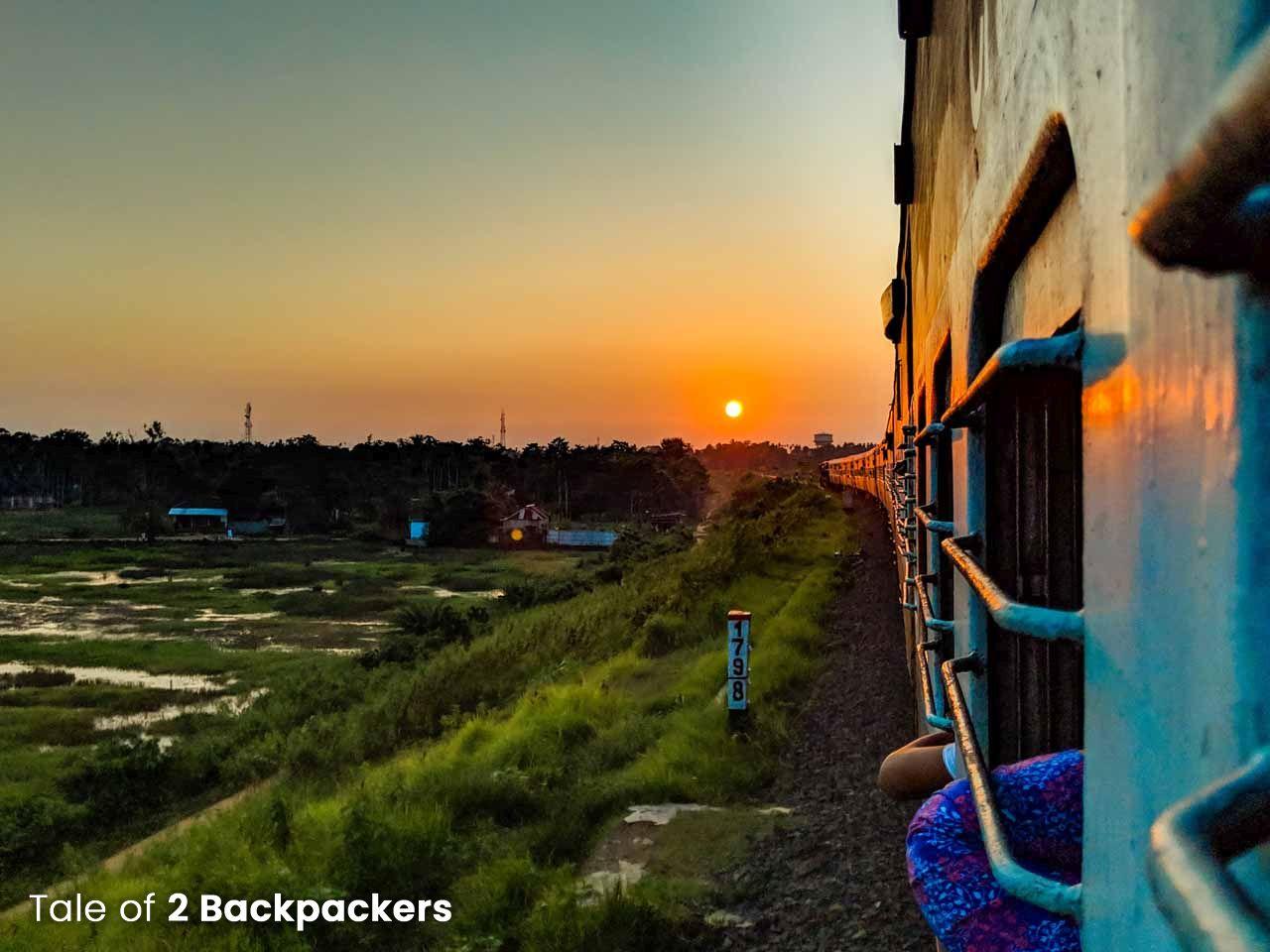 Train journey in Tripura - Transport in Tripura
